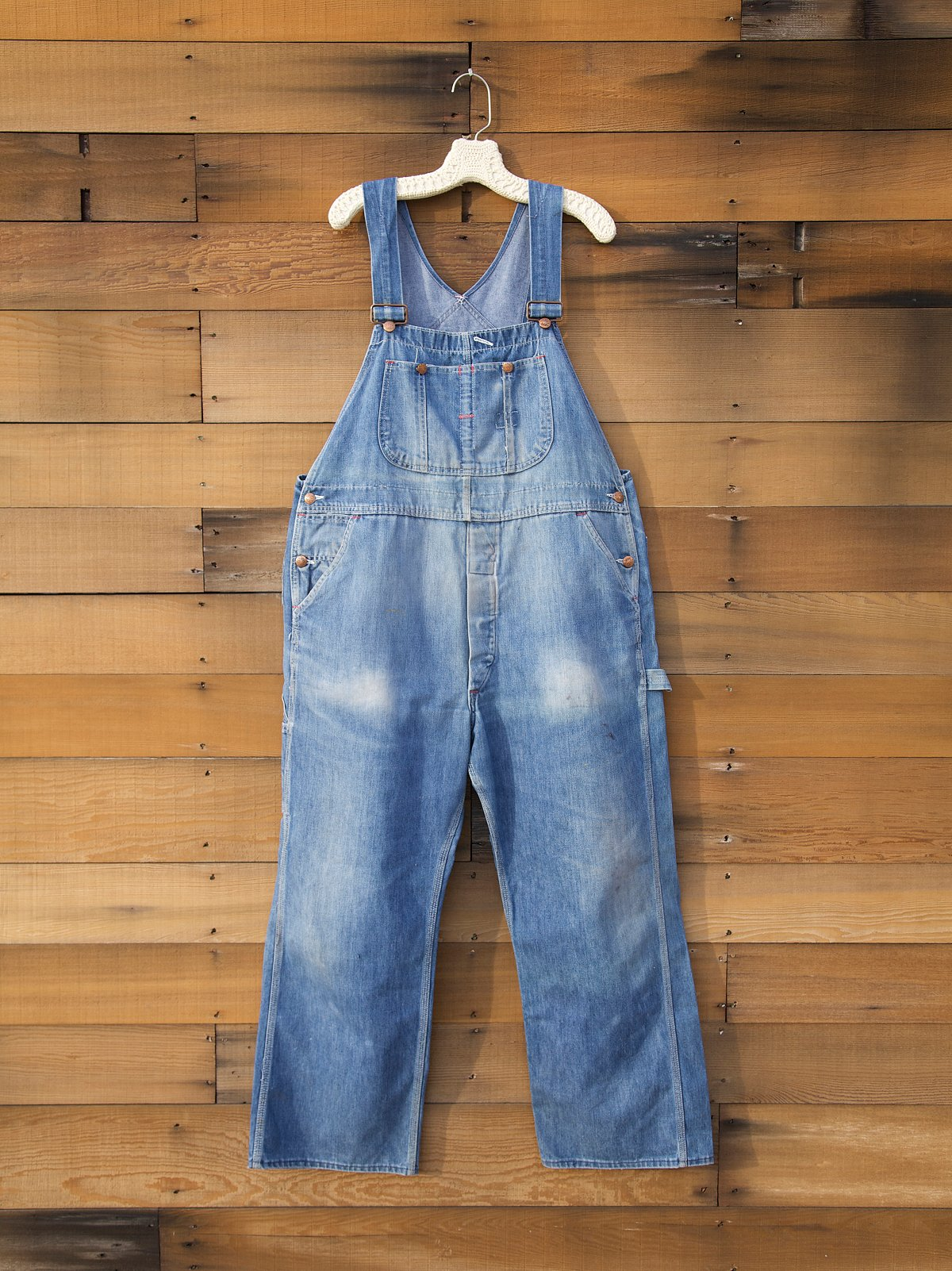 Vintage Denim Overalls