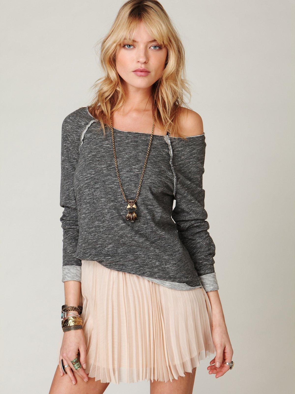 FP ONE Pleated Mini Skirt