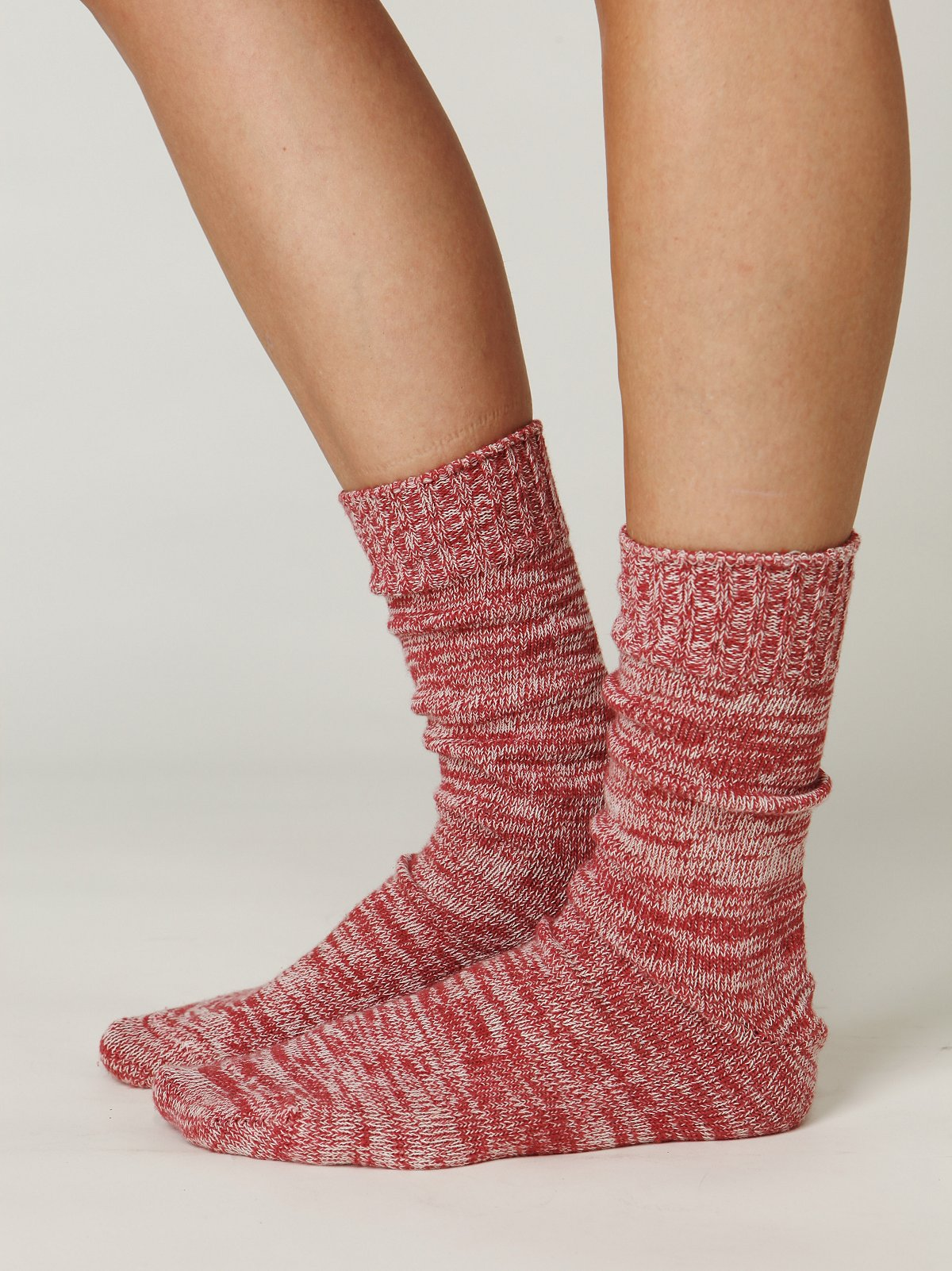 Cotton Spacedye Boot Sock