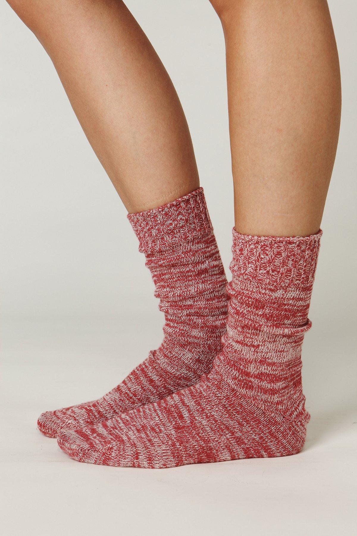 Cotton Spacedye Boot Sock