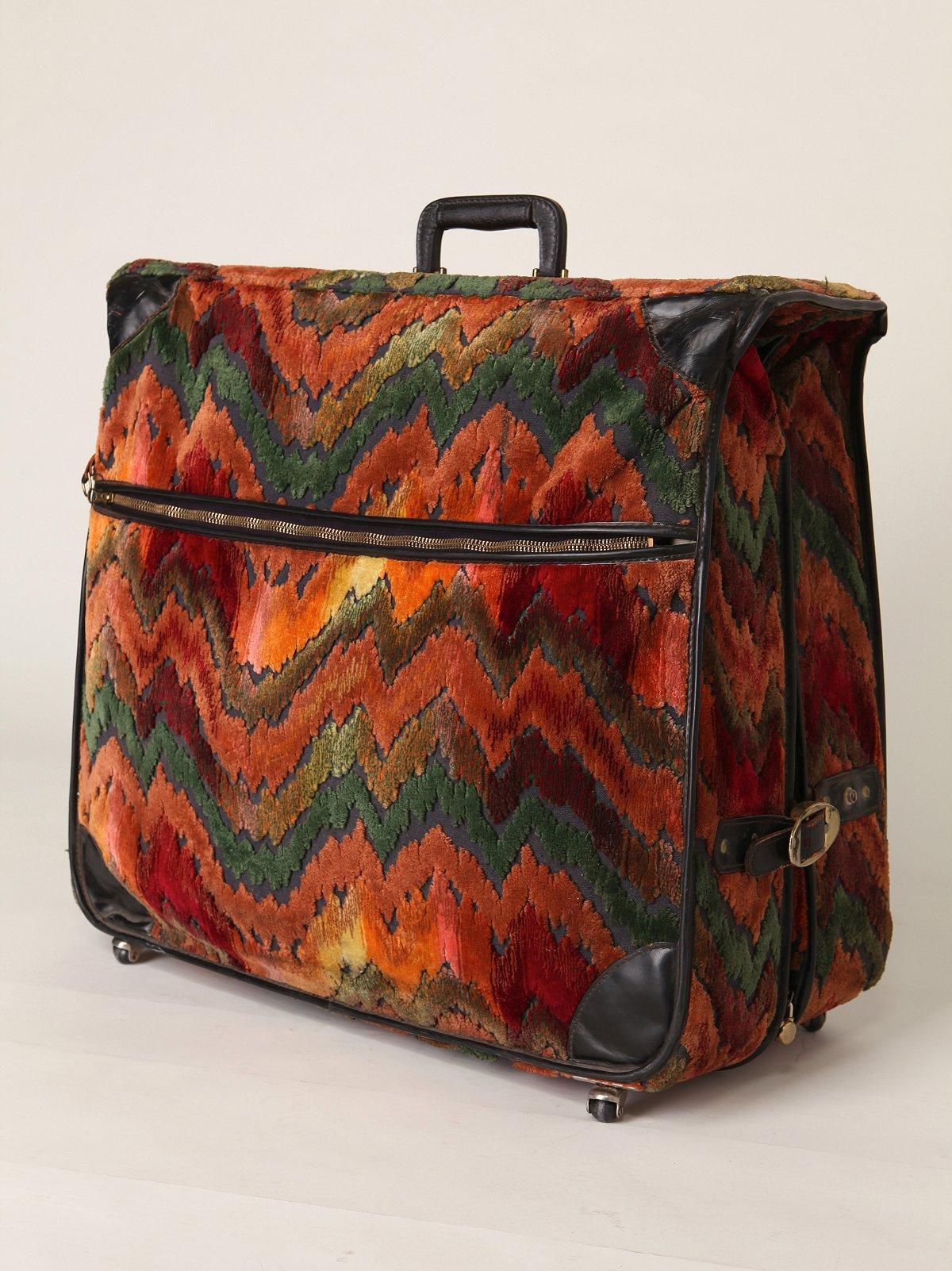 Vintage Tapestry Luggage