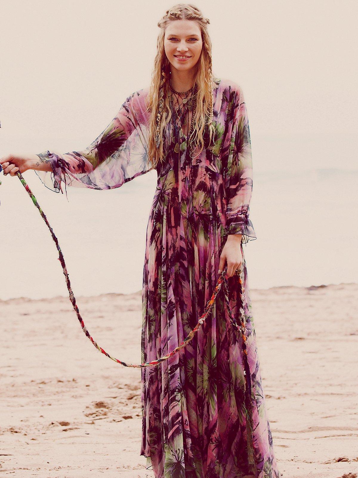 FP-1 Rainforest Maxi Dress