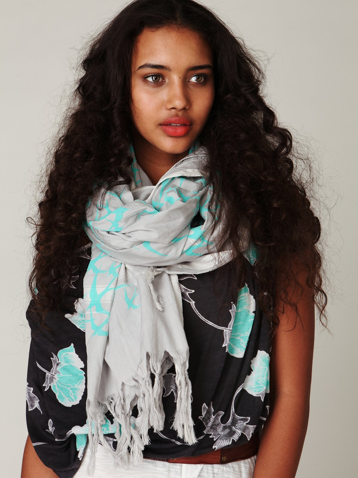 Flight Print Scarf