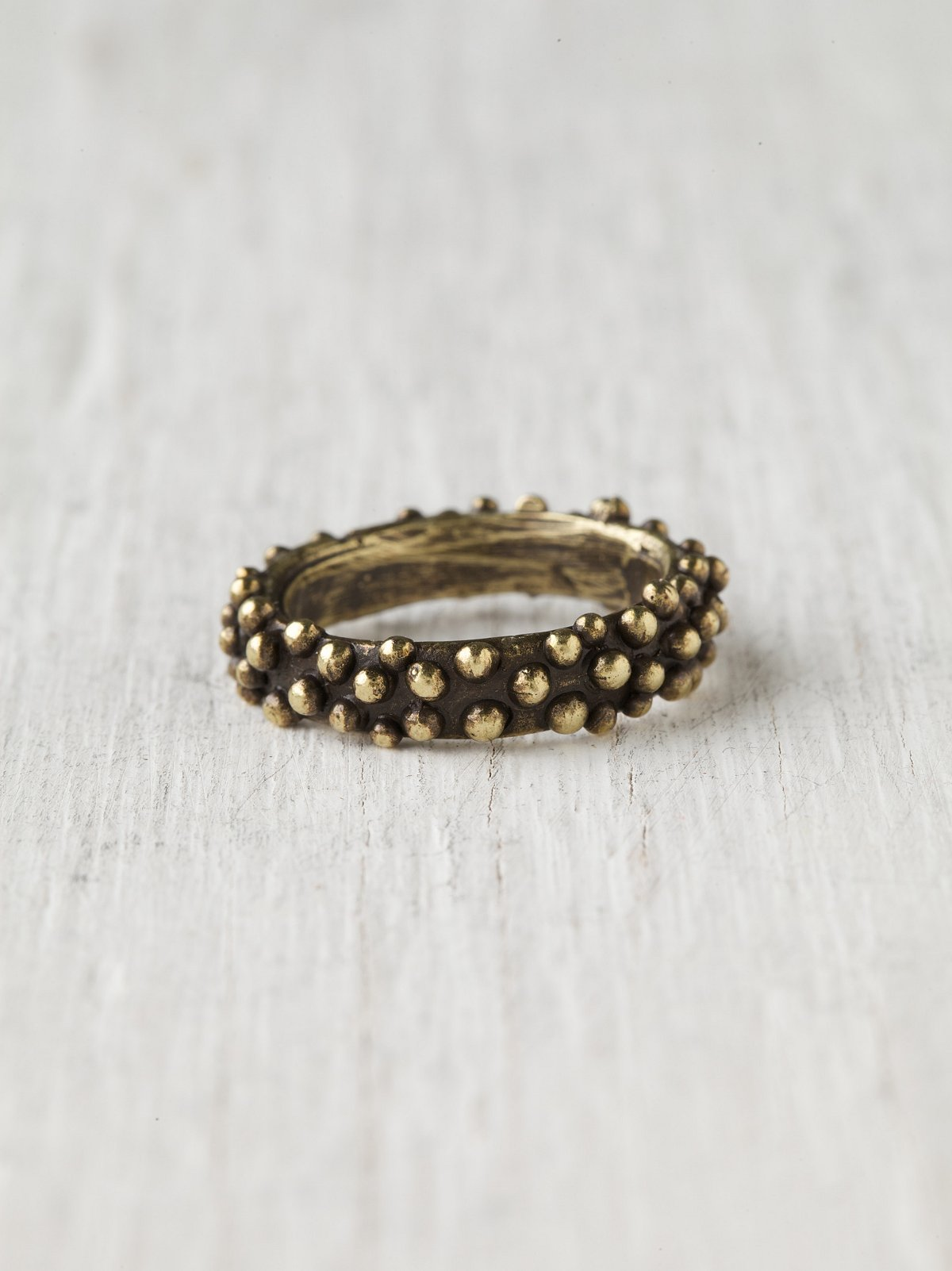Braille Band Ring
