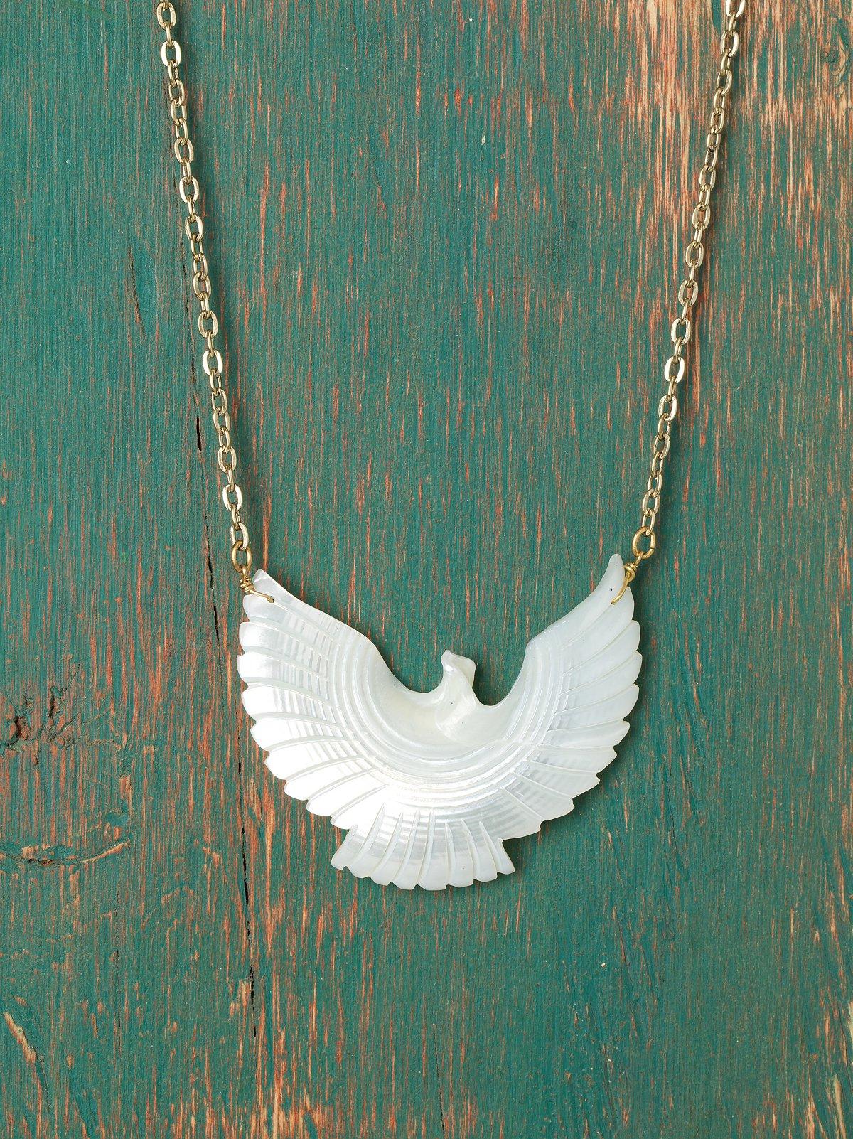 Pearl Eagle Pendant