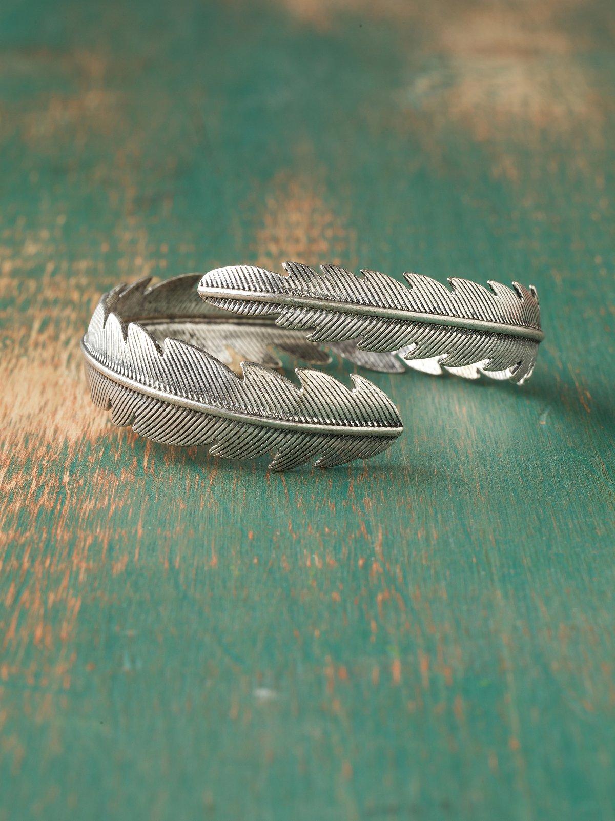 Feather Wrap Arm Cuff