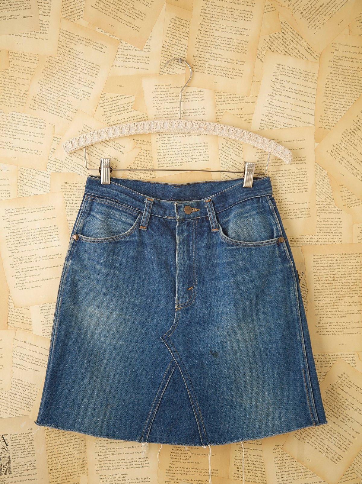 Vintage Wrangler Skirt