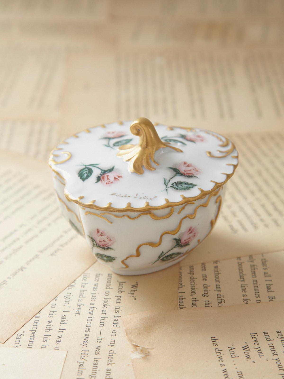 Vintage Porcelain Ring Pot