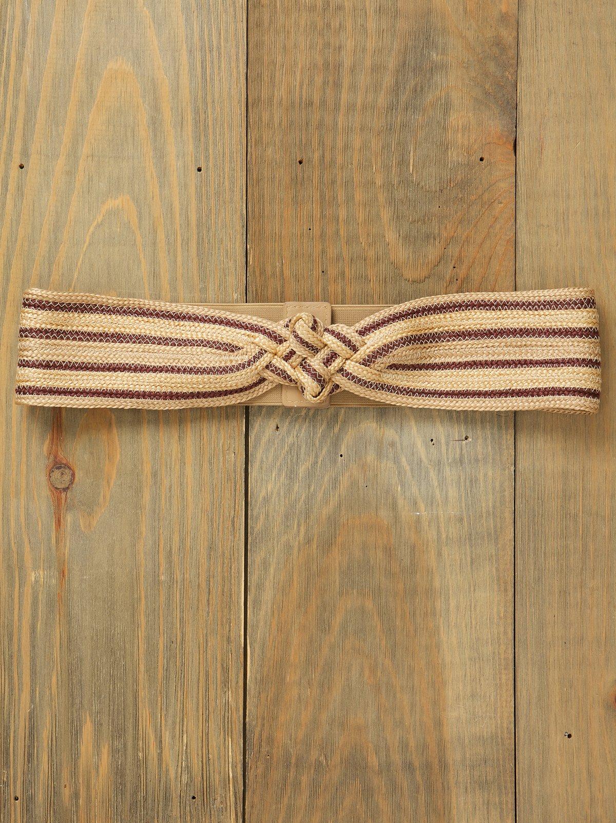 Festival Stripe Waist Belt