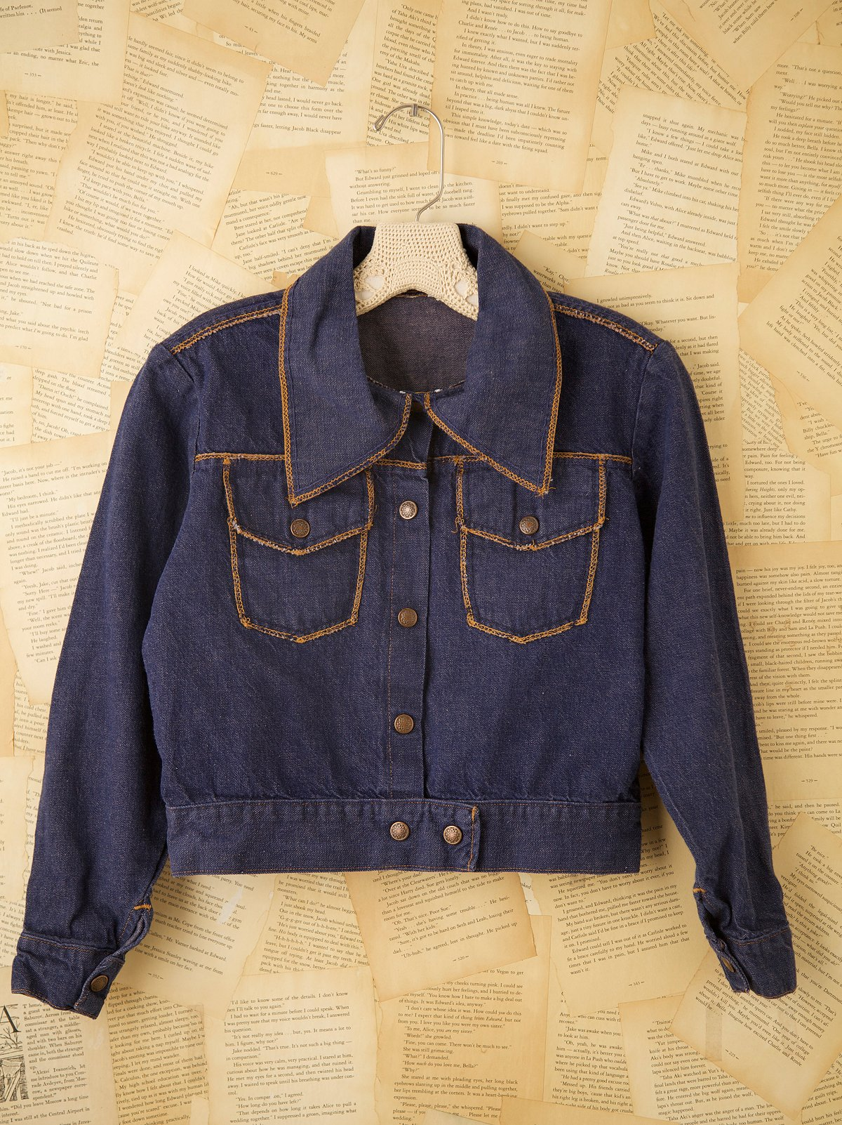 Vintage 1970s Denim Jacket
