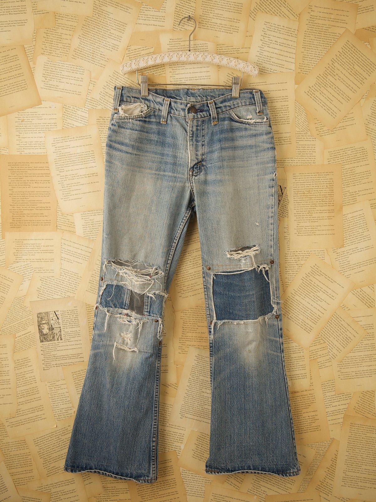 Vintage Levis Patched Jeans