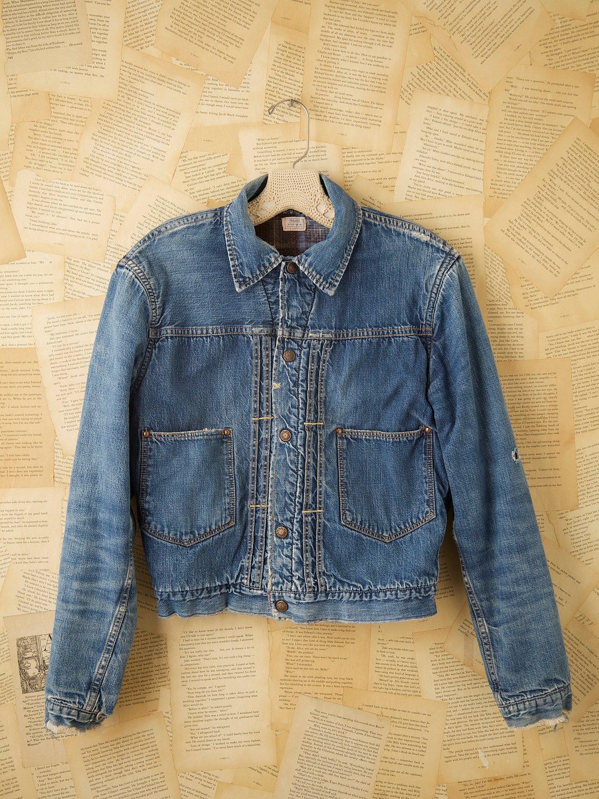Vintage 1960s Jean Jacket