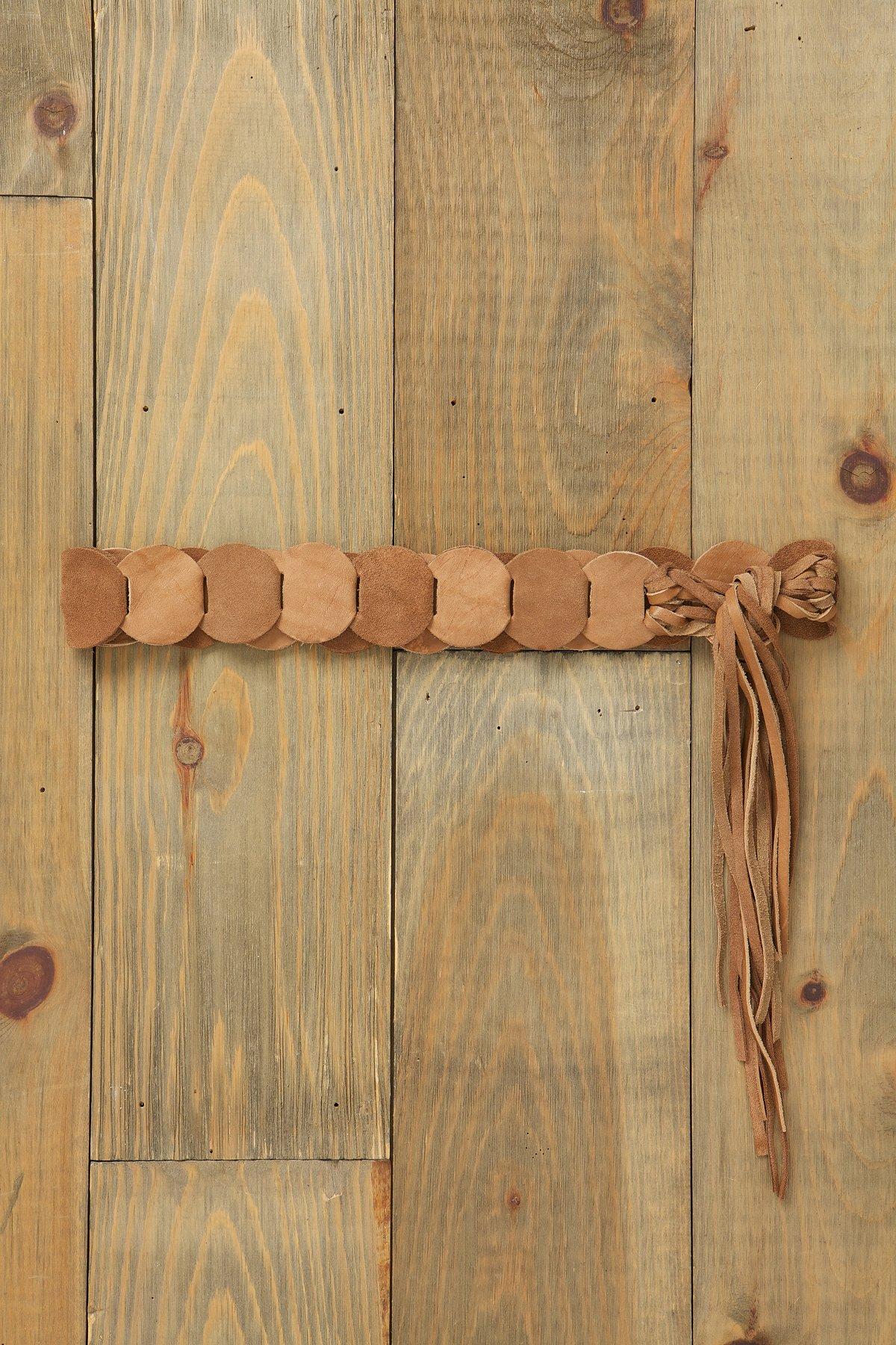 Patched Tie Belt