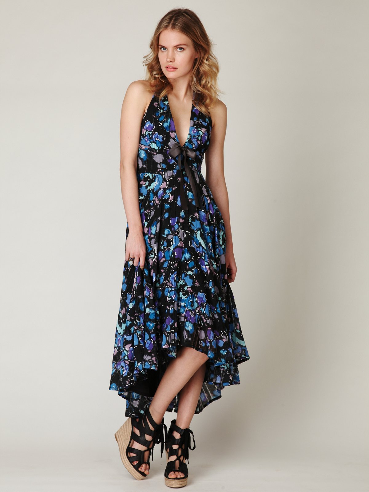 Bohemian Halter Dress