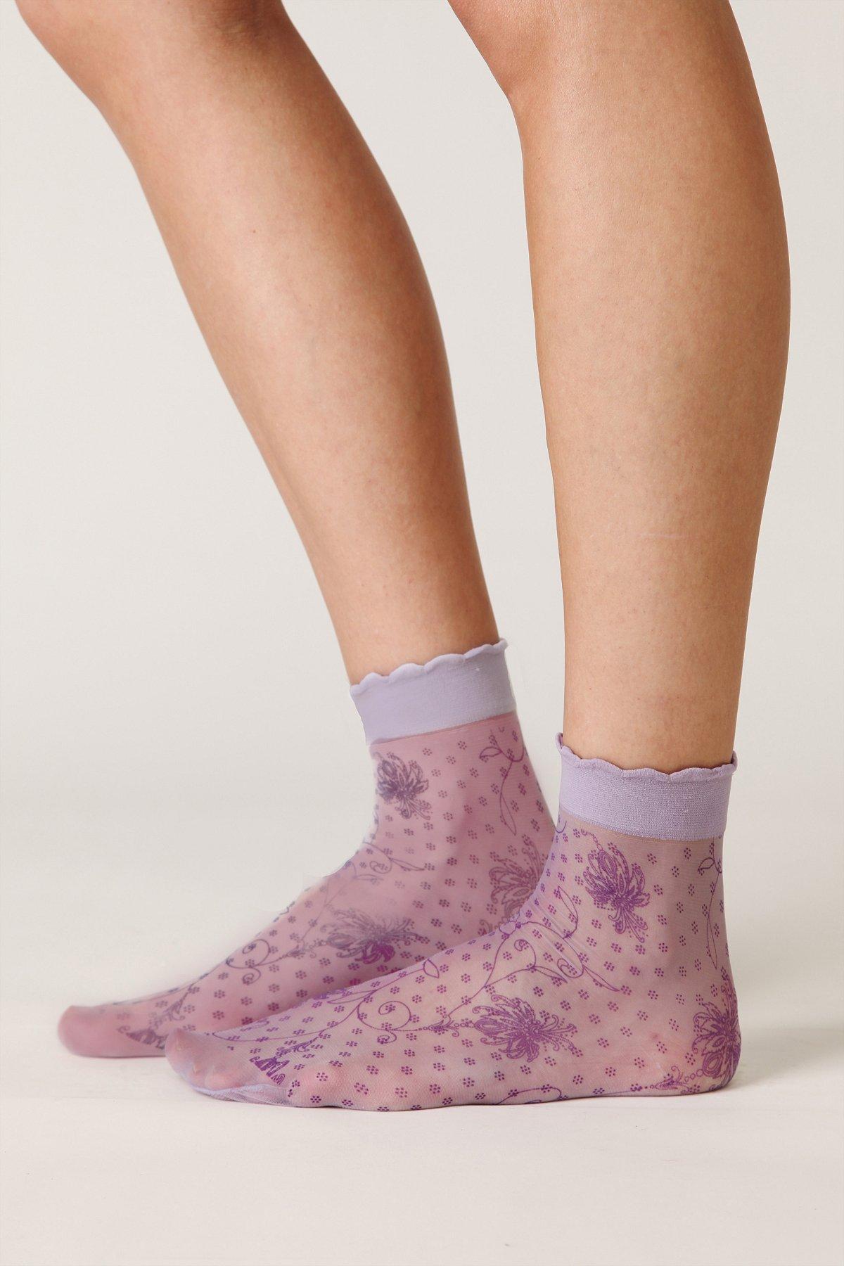 Swirl Sheer Anklet
