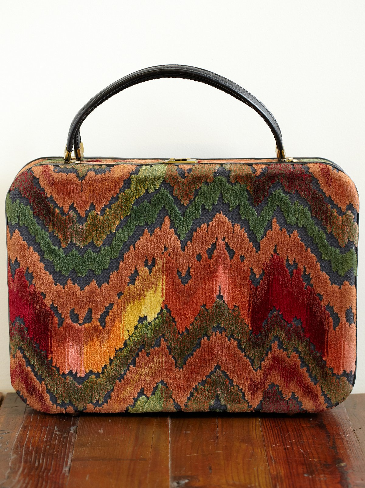 Vintage 70s Hombre Velvet Bag