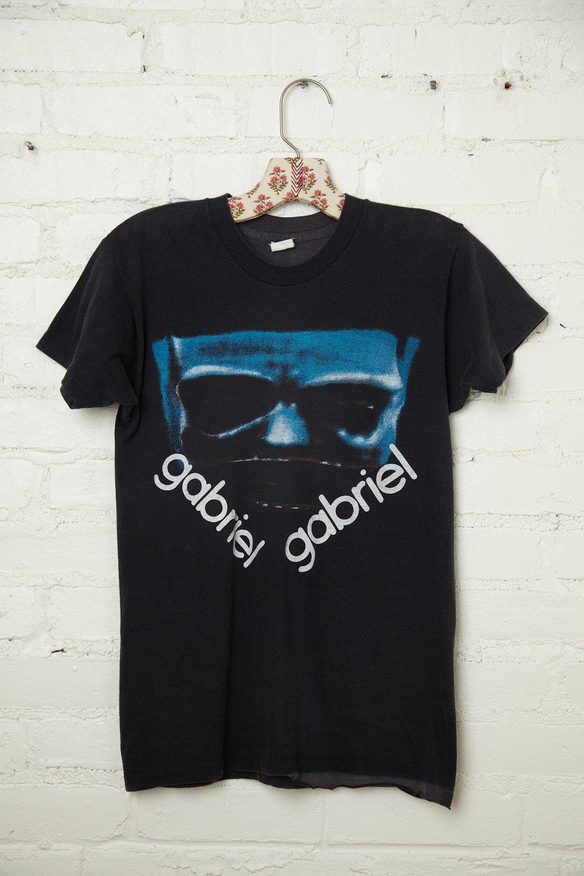 Vintage 1982 Peter Gabriel Tee