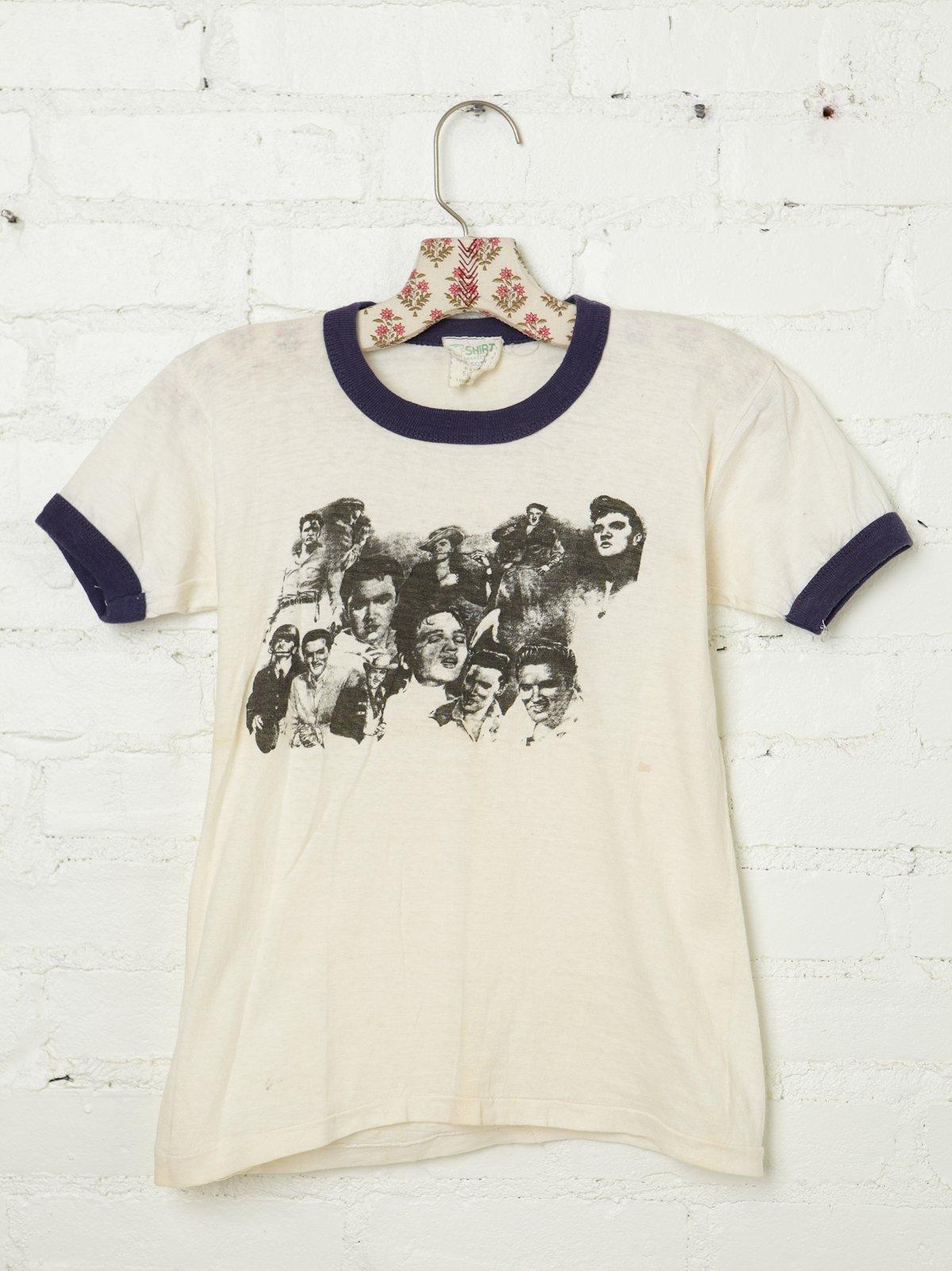 Vintage 1970s Elvis Tee