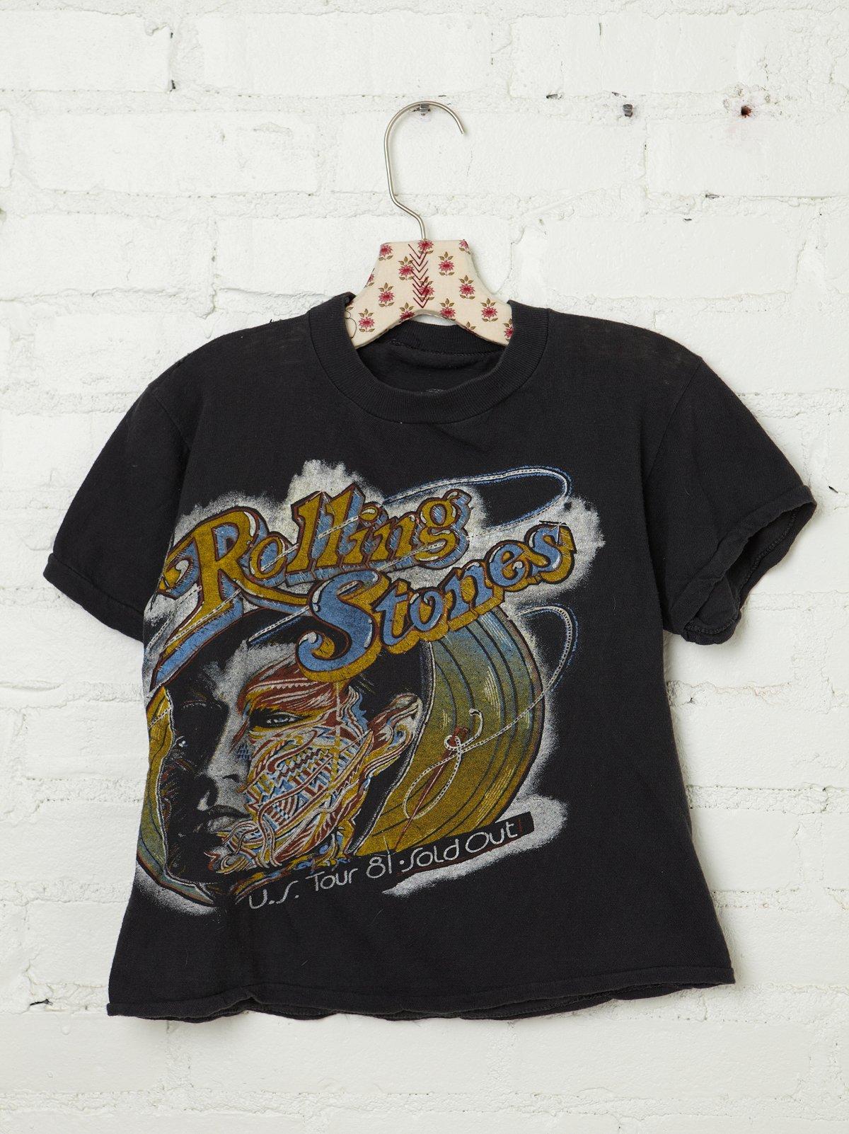 Vintage 1981 Rolling Stones Tee