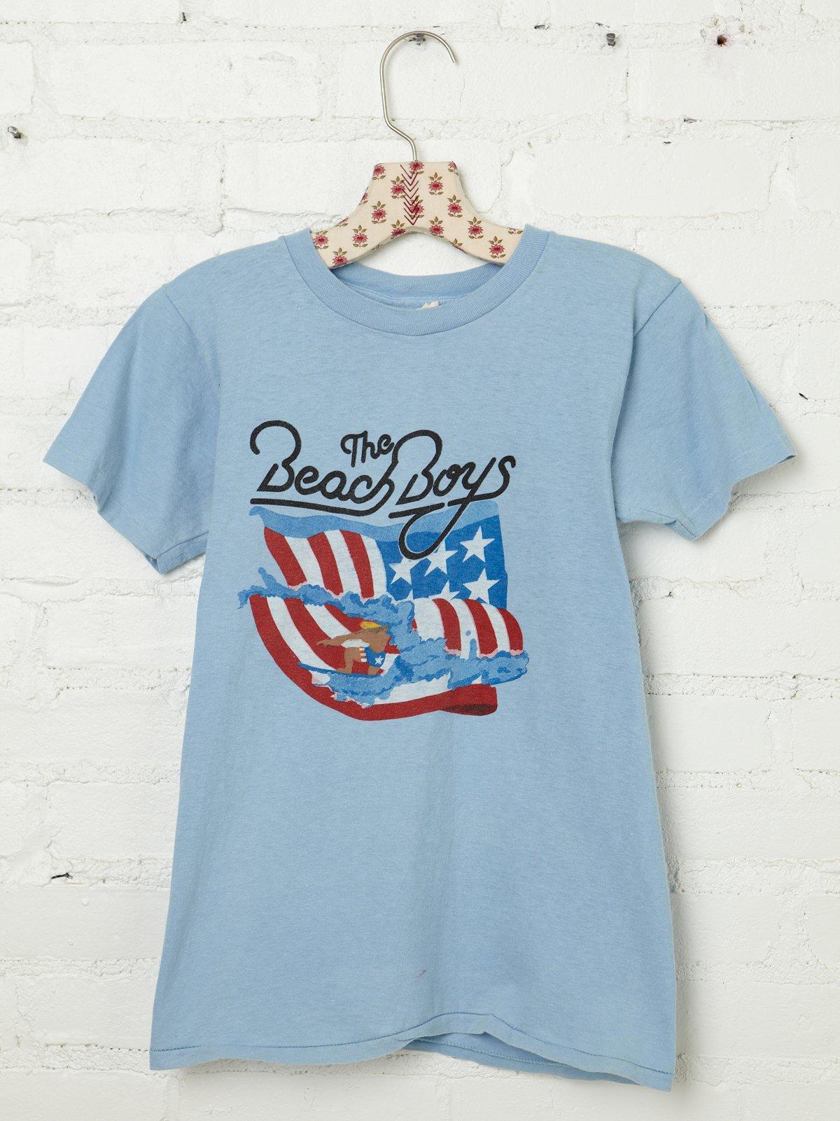 Vintage 1981 Beach Boys Tee