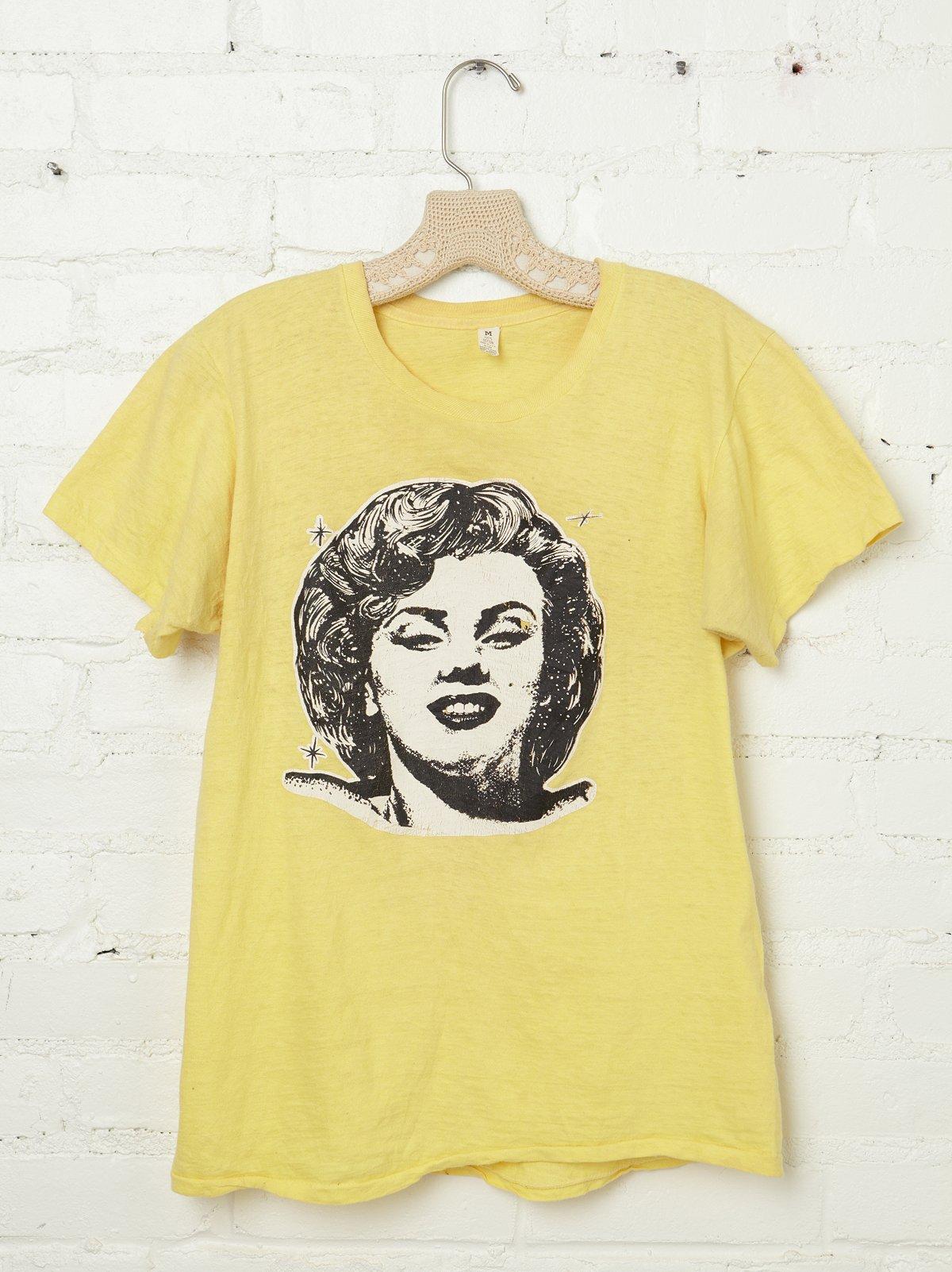 Vintage 1970s Marilyn Monroe Tee