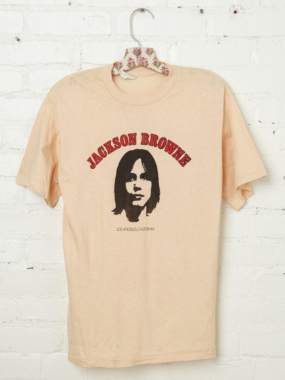 Vintage Jackson Browne Tee