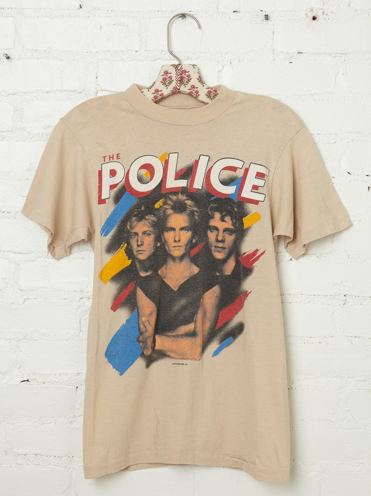 Vintage 1983 The Police Tee