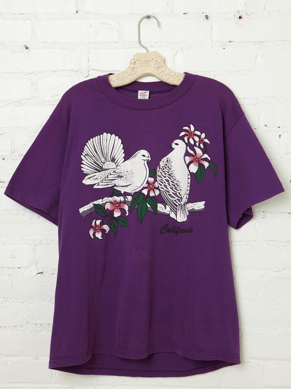 Vintage Hawaiian Birds Tee