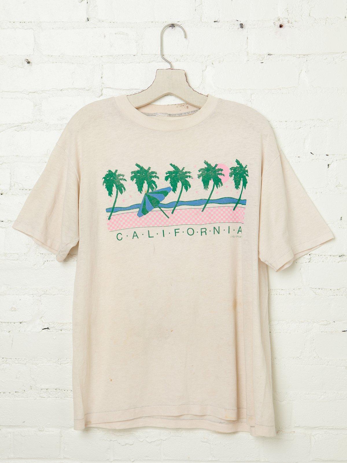 Vintage California Palms Tee