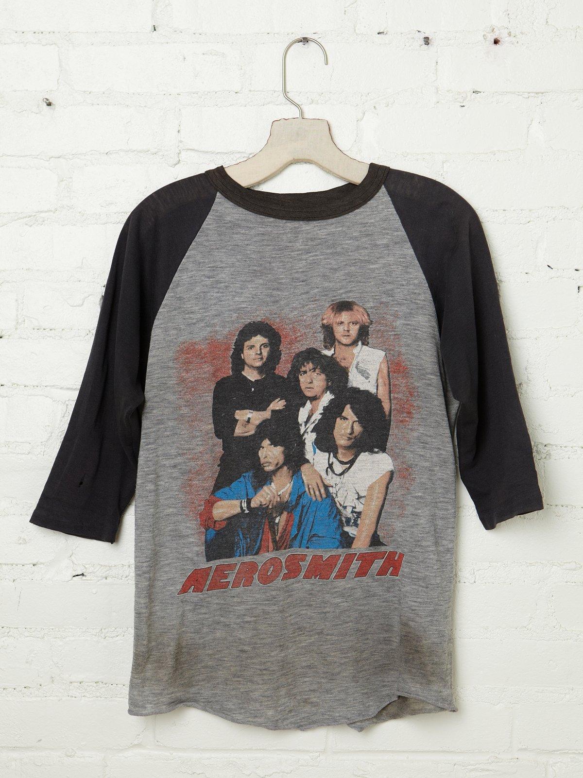 Vintage 1984 Aerosmith Tee