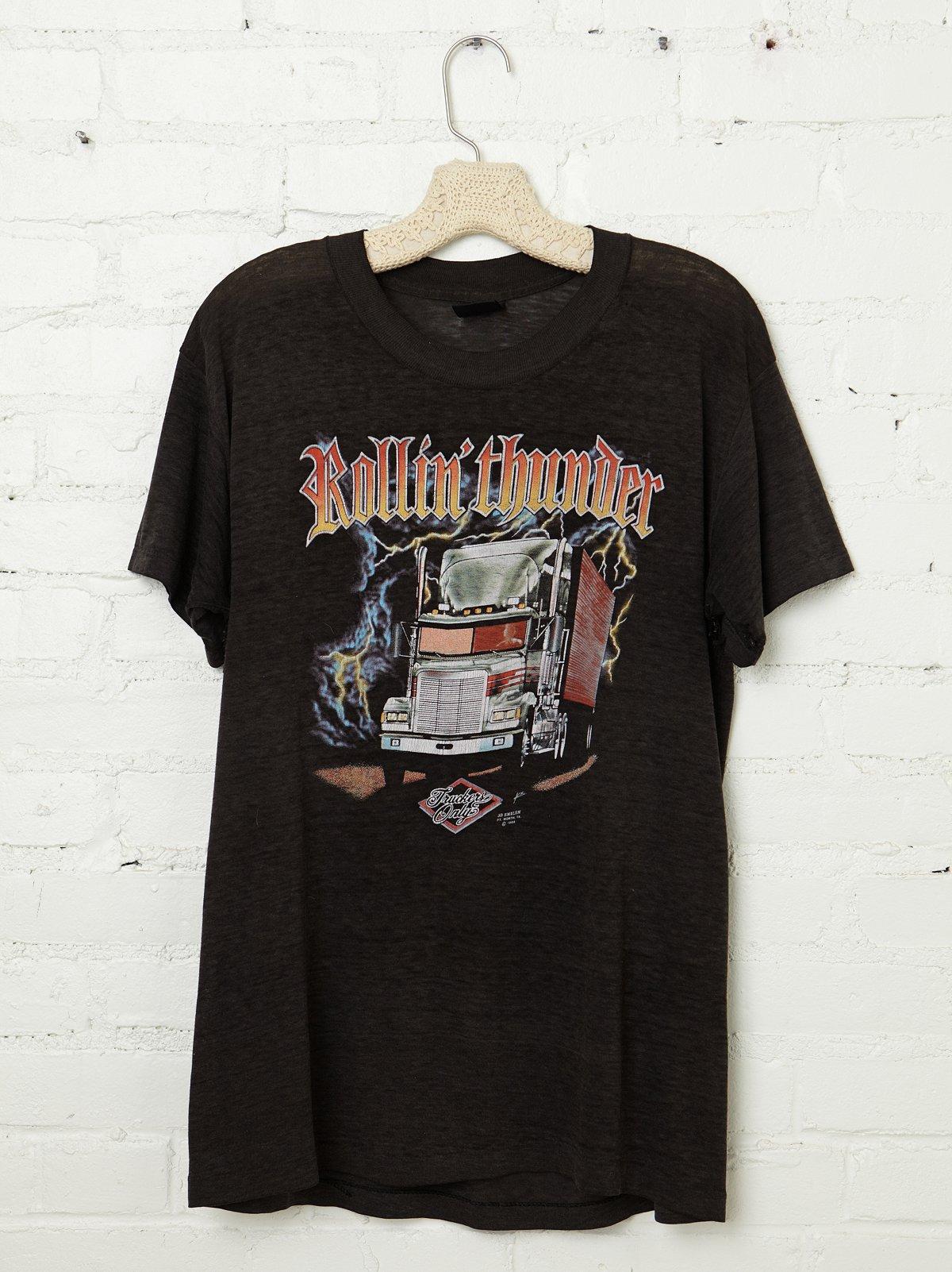 Vintage Rollin' Thunder Tee