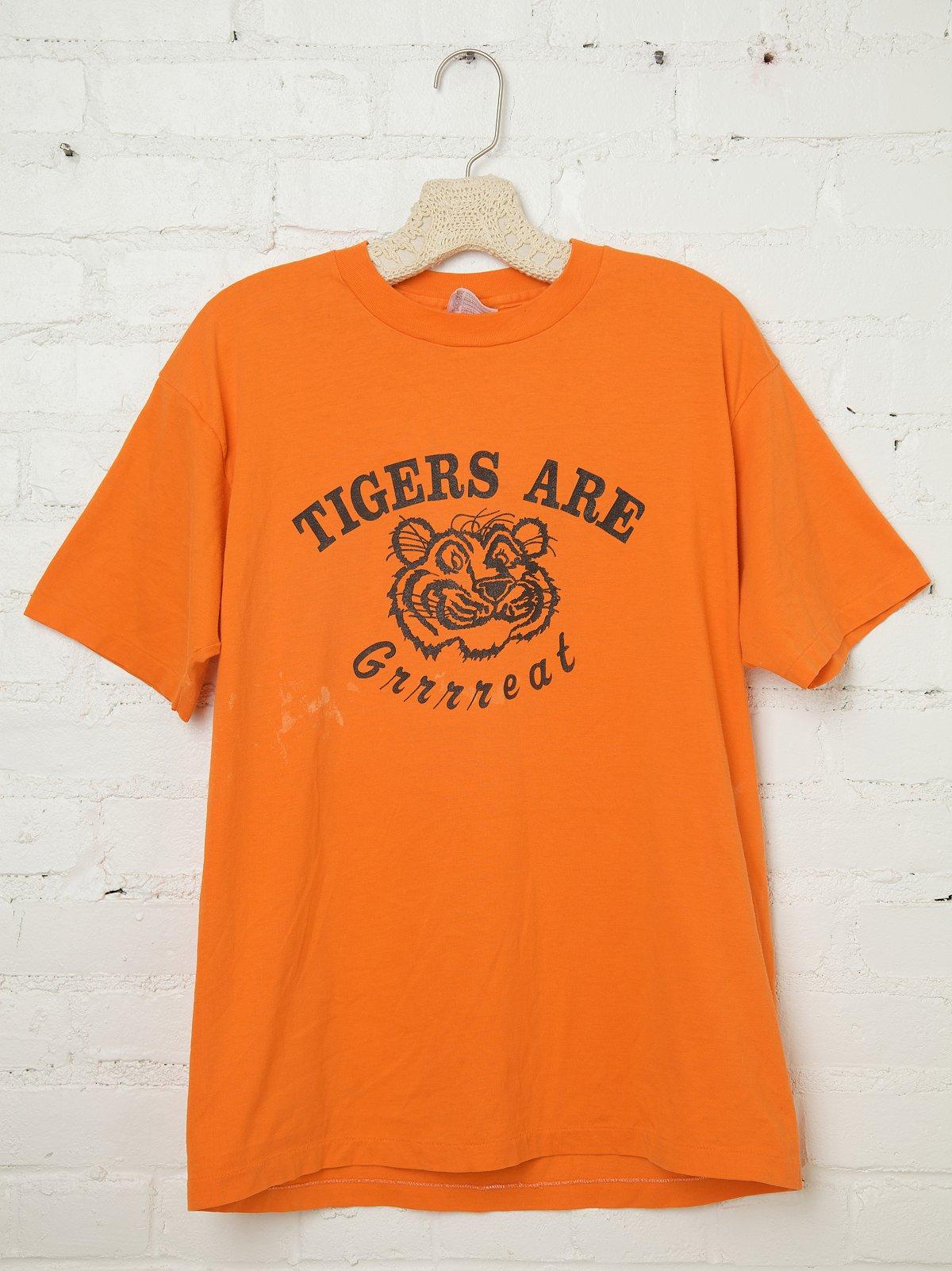Vintage Tigers Are Grrrreat Tee