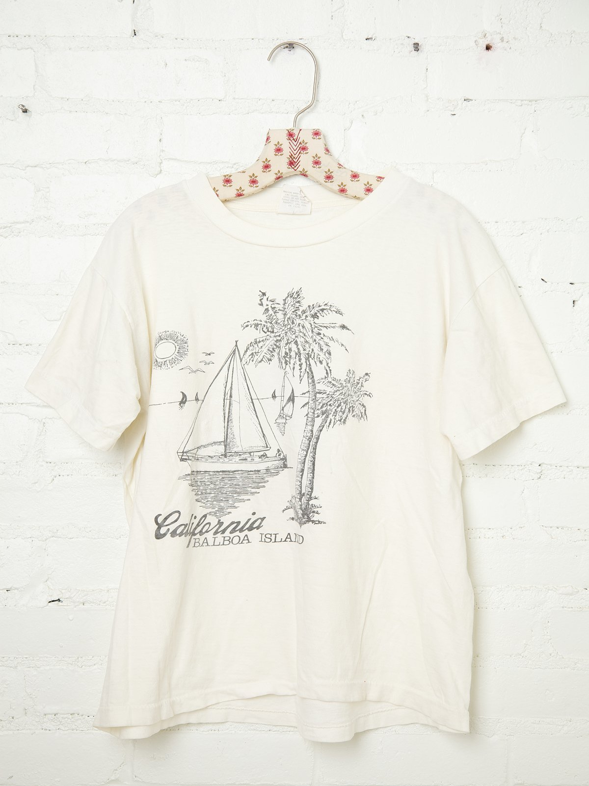 Vintage California Sailboat Tee