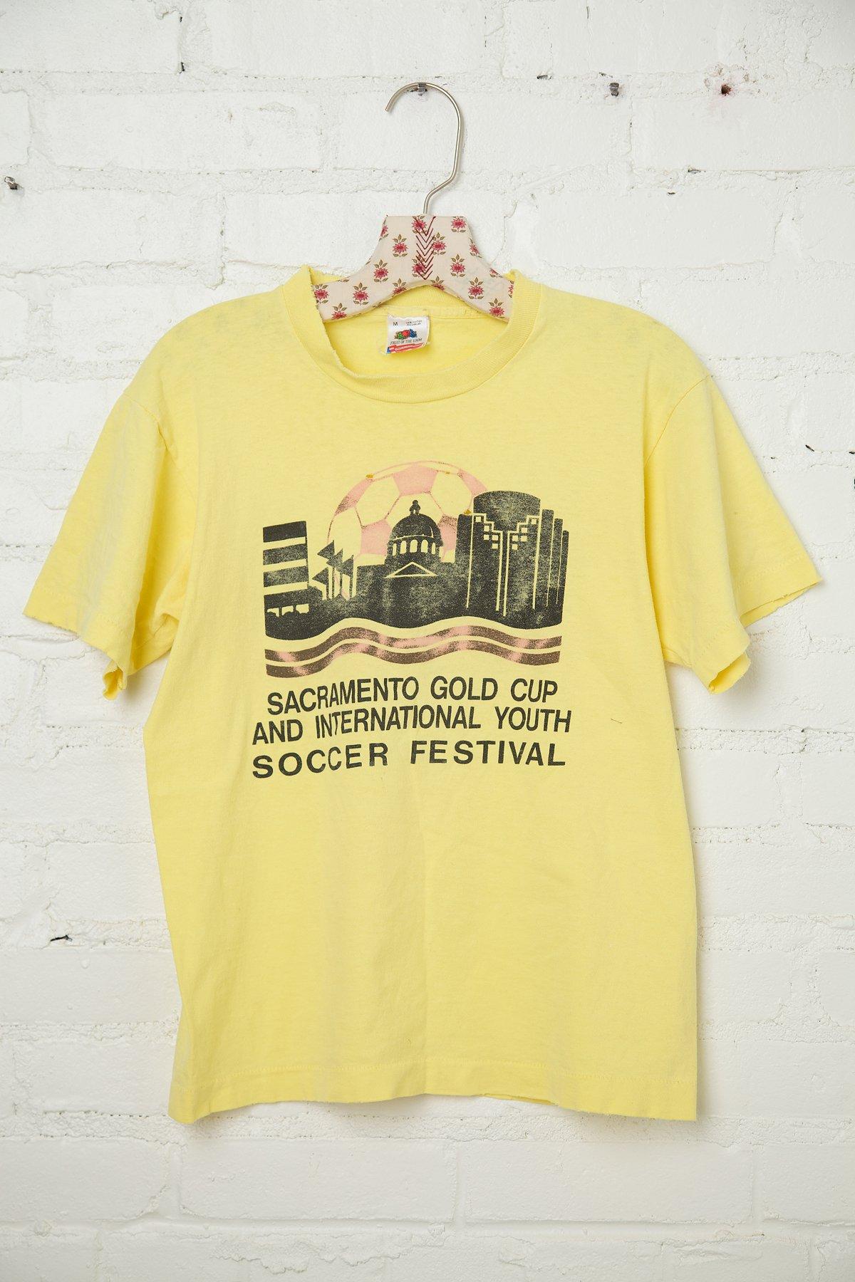 Vintage Soccer Festival Tee