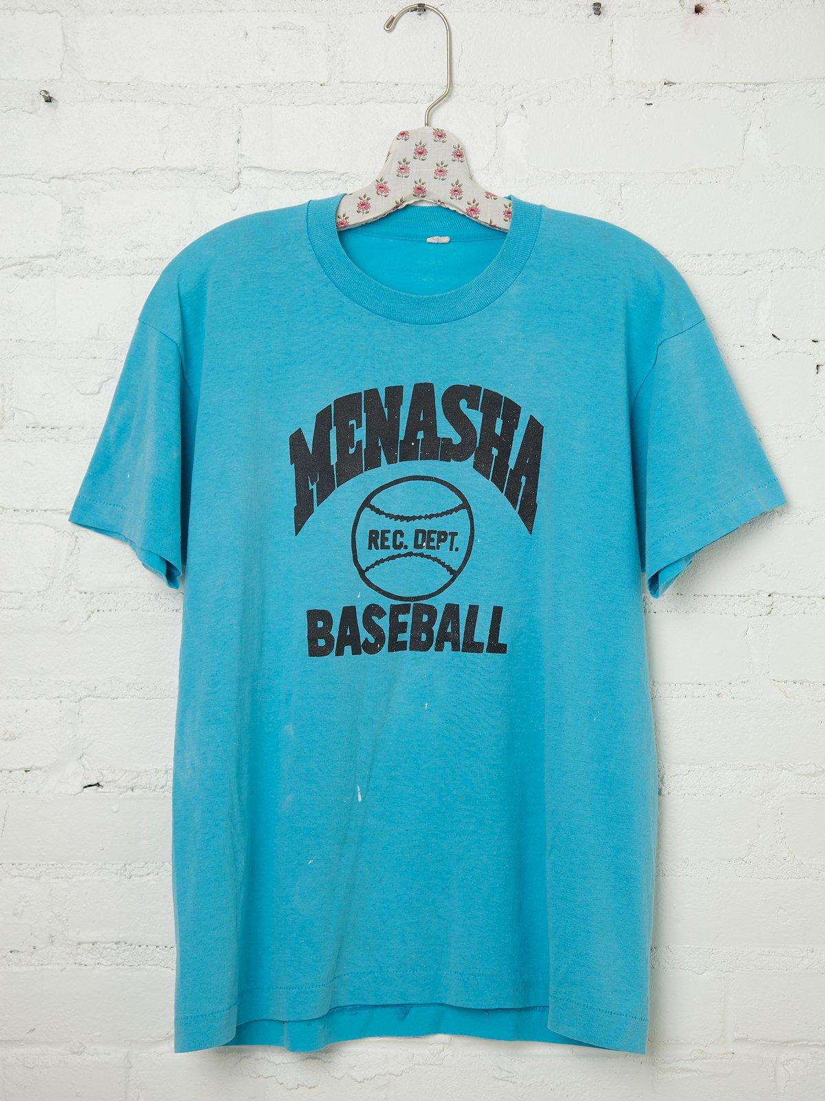 Vintage Menasha Baseball Tee