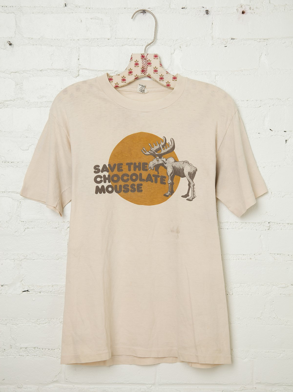 Vintage Save the Chocolate Mousse Tee