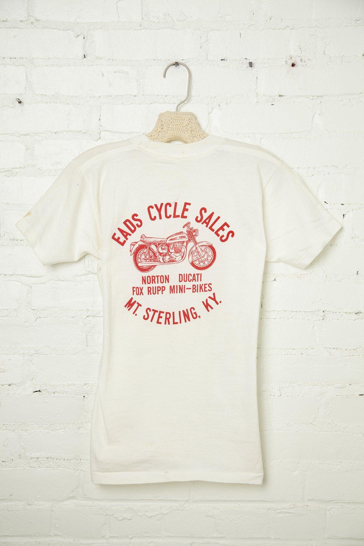 Vintage Eads Cycle Sales Tee