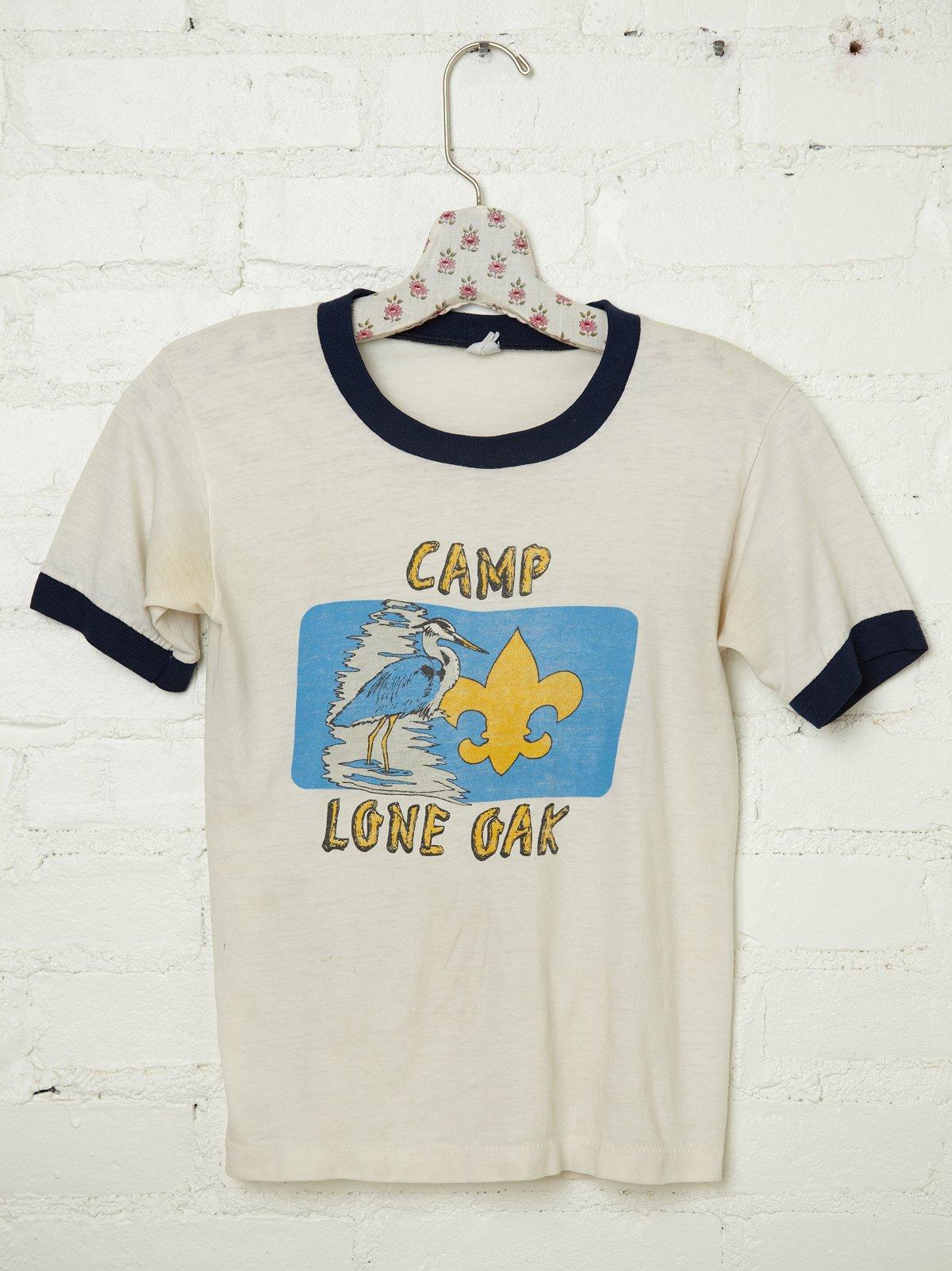Vintage Camp Lone Oak Tee