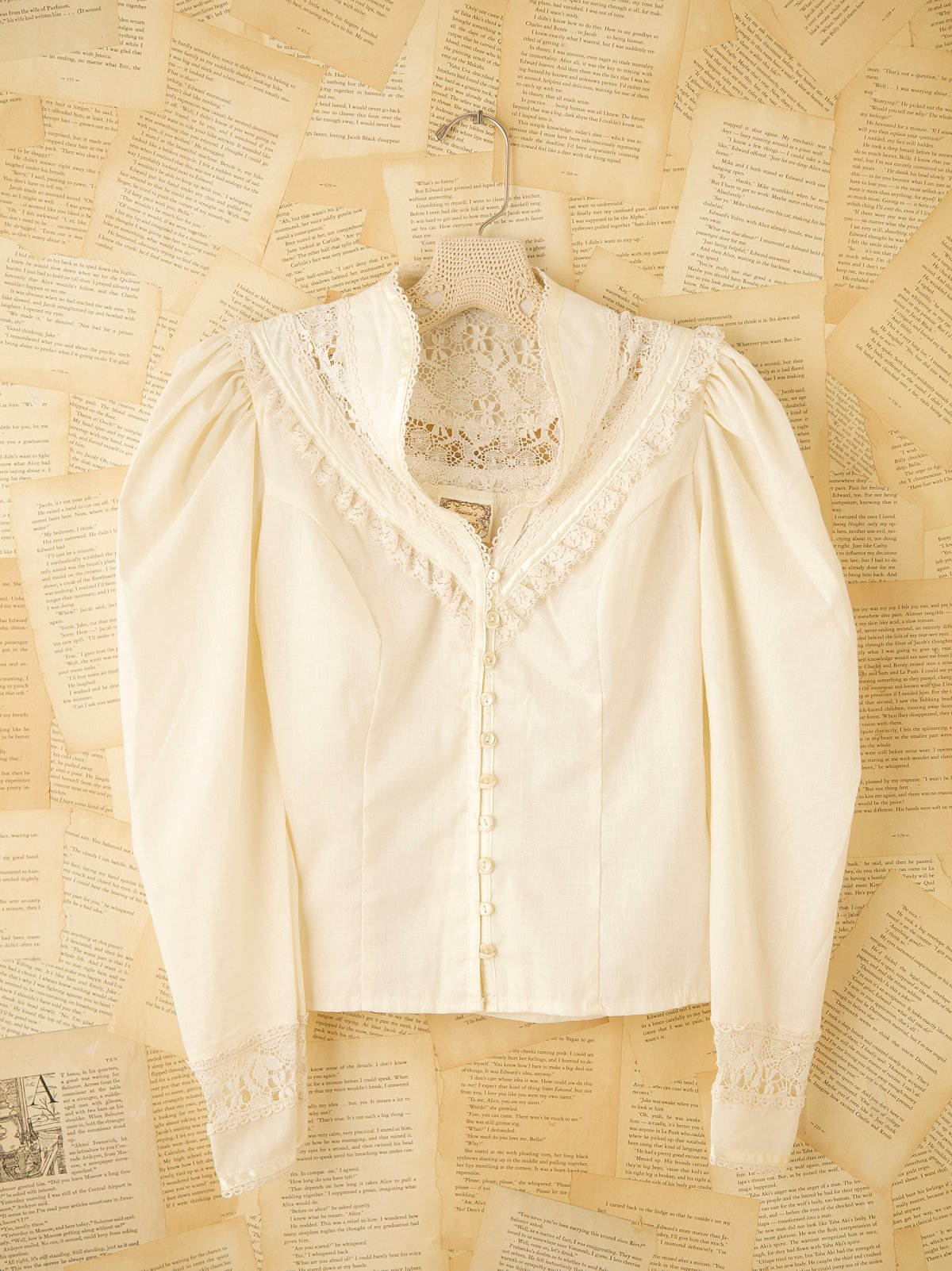 Vintage 70s Victorian Shirt