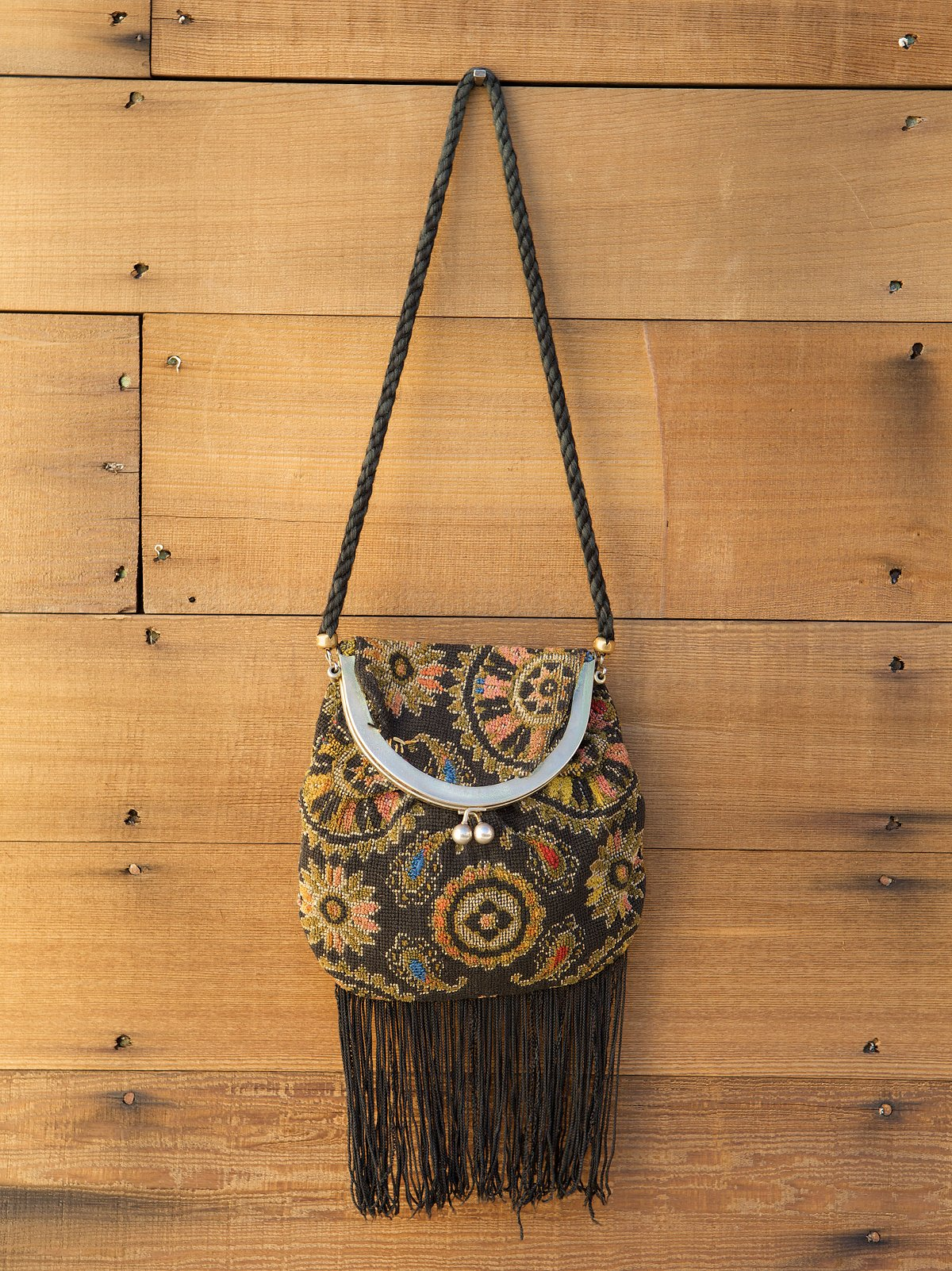 Vintage Tapestry Purse