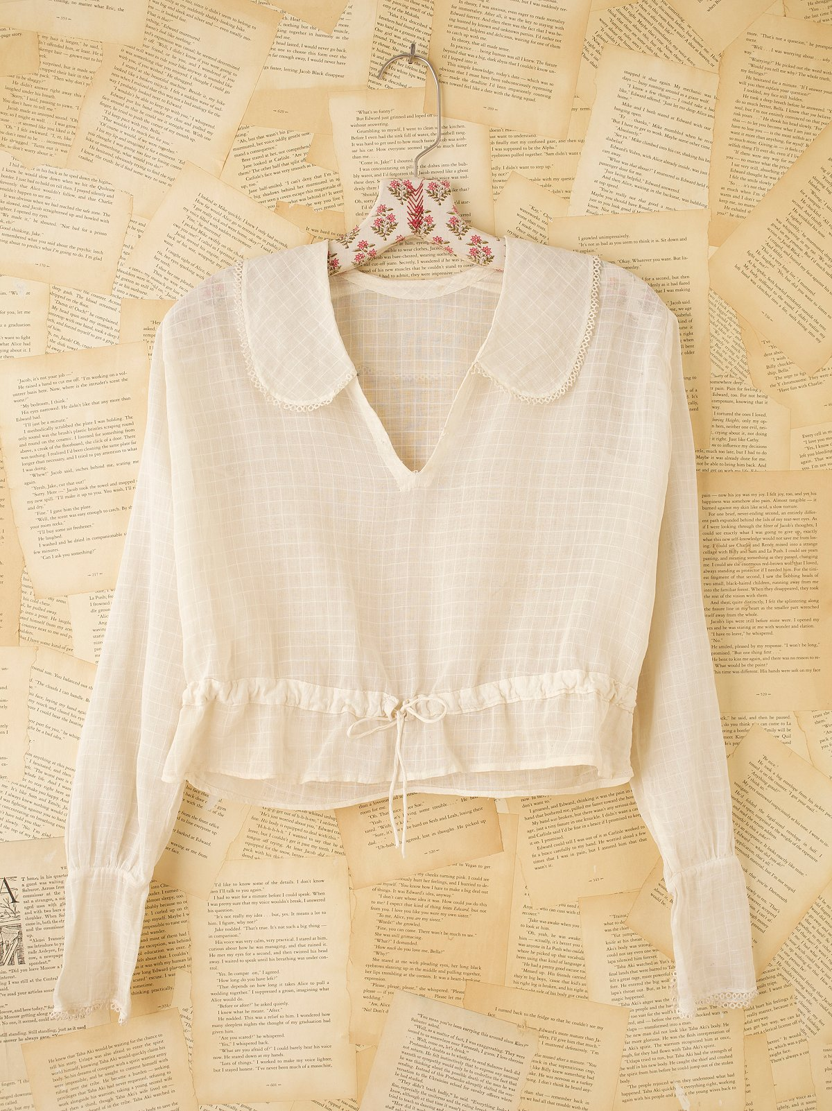 Vintage Victorian Long Sleeve Shirt