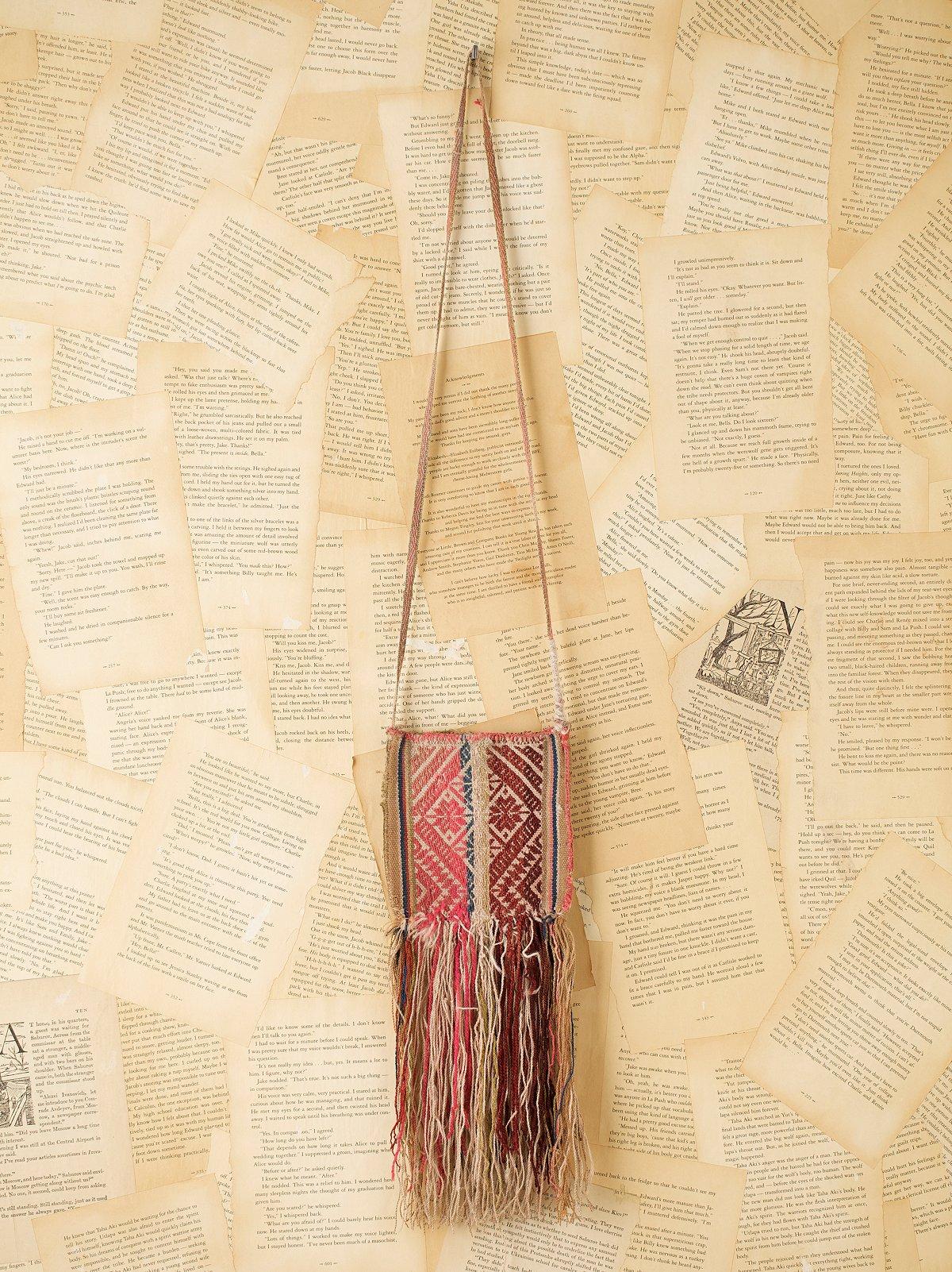 Vintage Peruvian Woven Bag