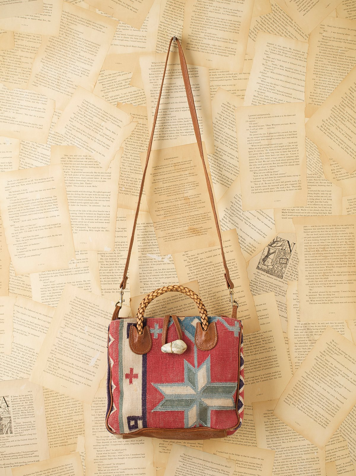 Vintage Serape Natural Bag
