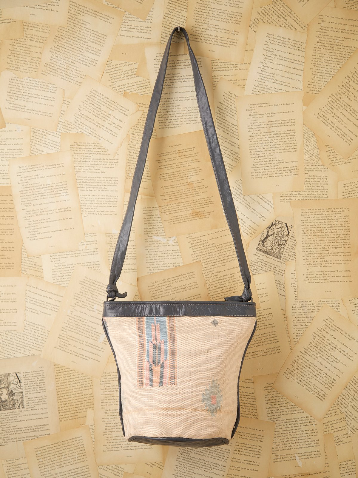 Vintage Serape Natural Bag