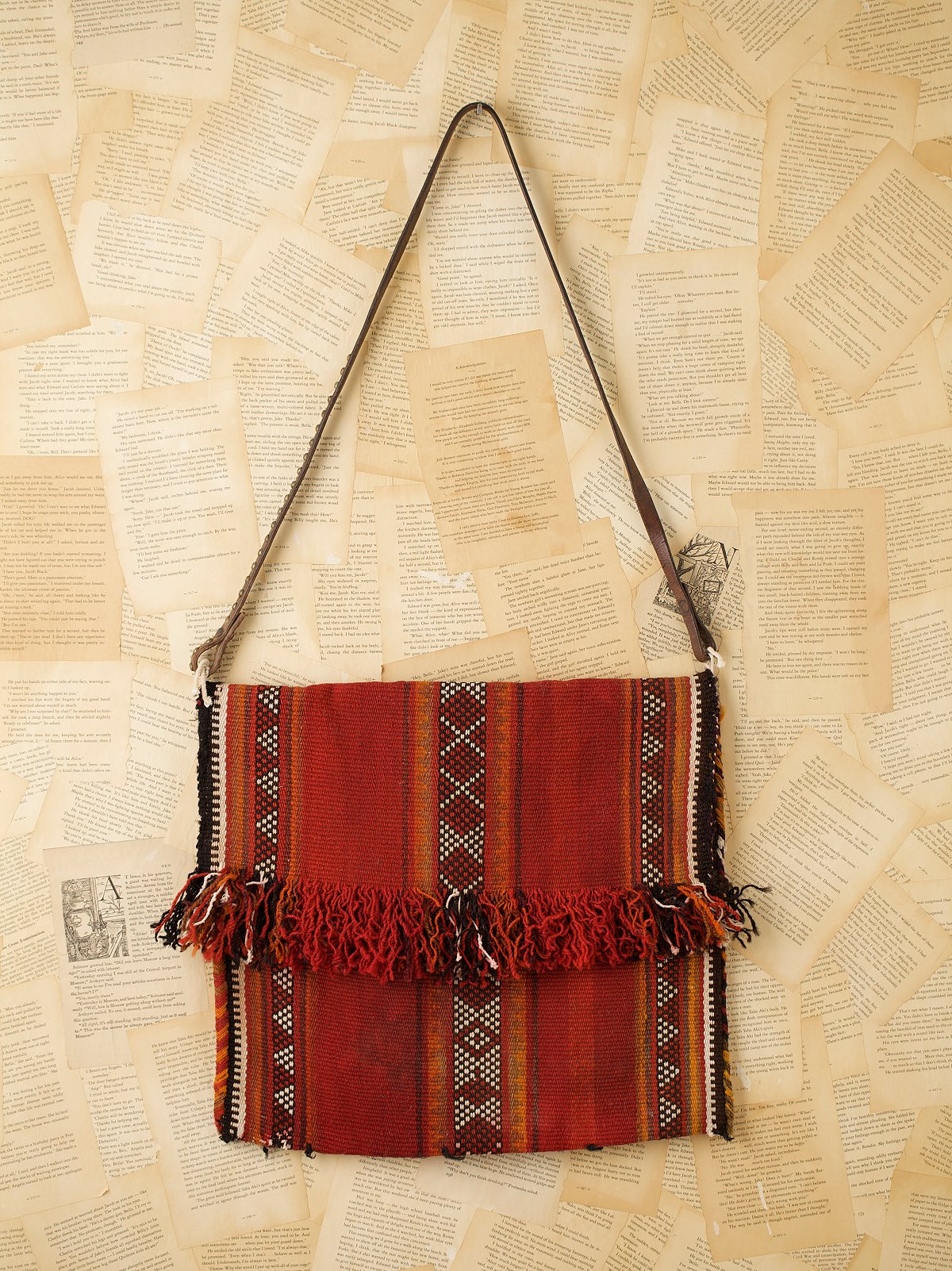 Vintage Serape Wool Bag