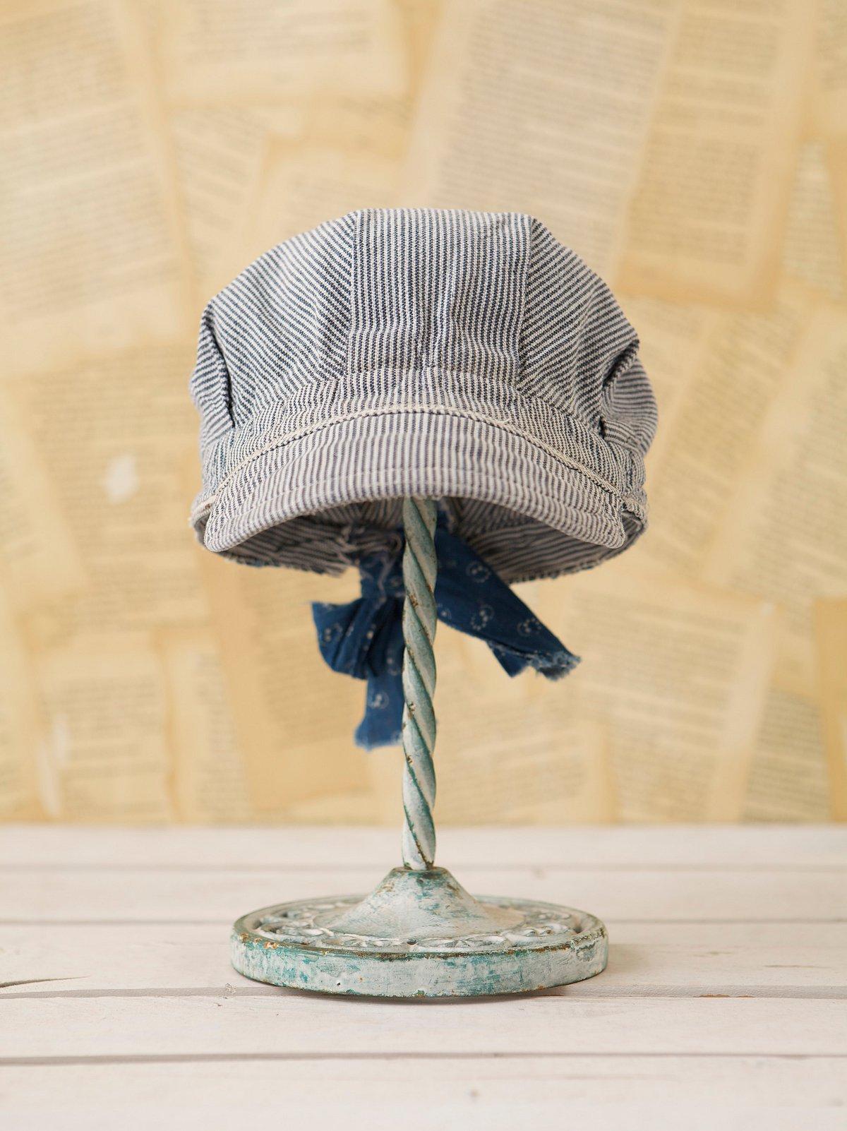 Vintage Railroad Stripe Hat