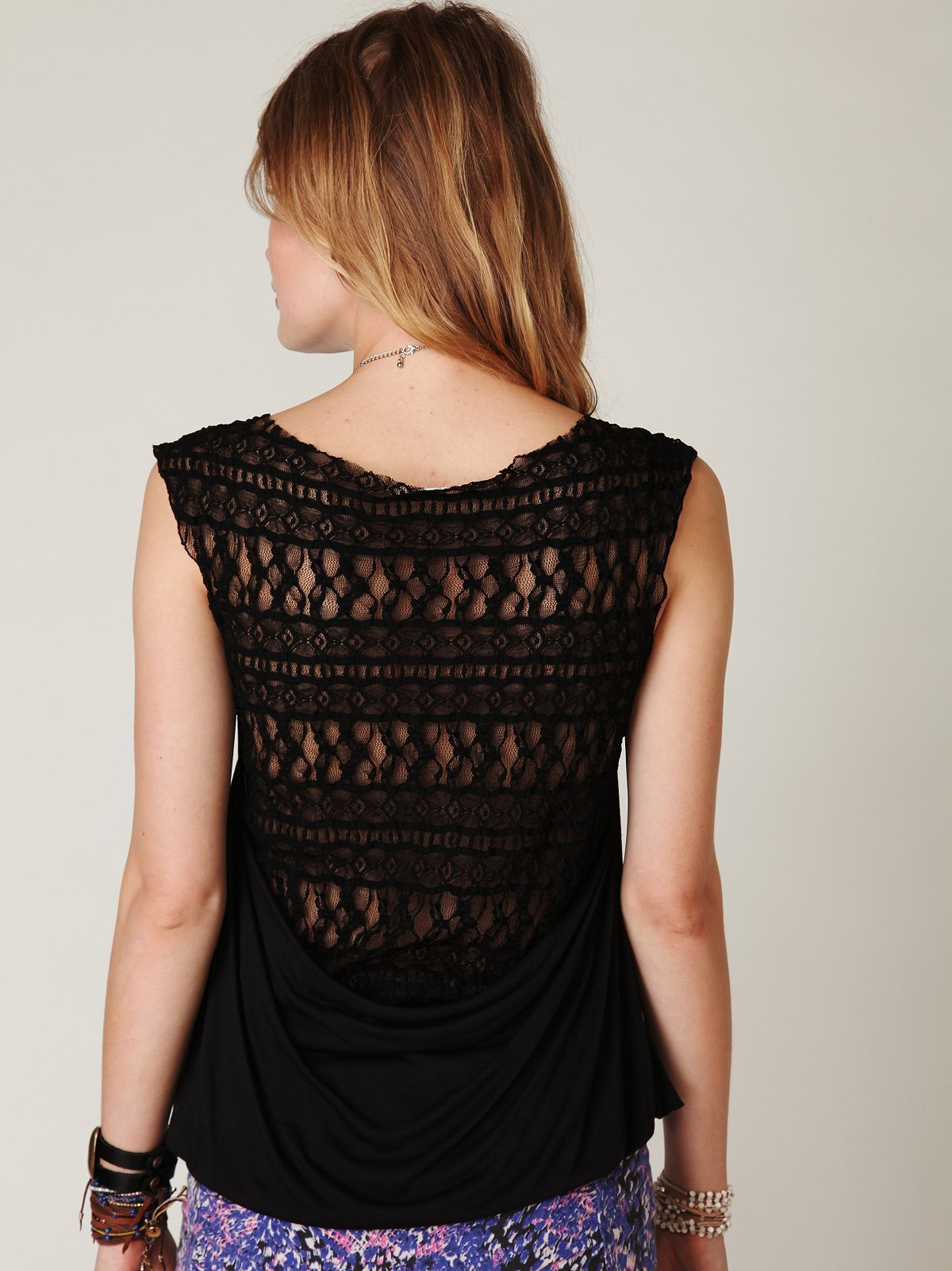 Harlow Lace Back Top