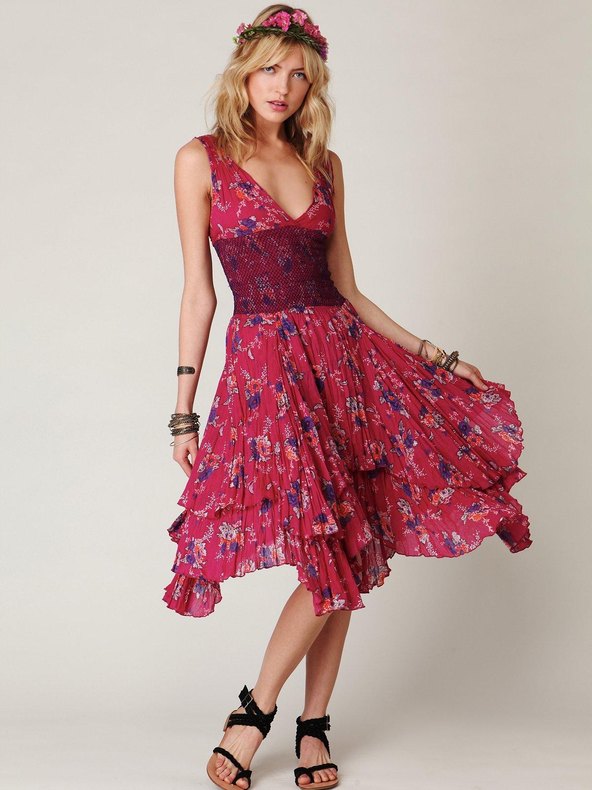 FP ONE Sunflower Wisteria Dress