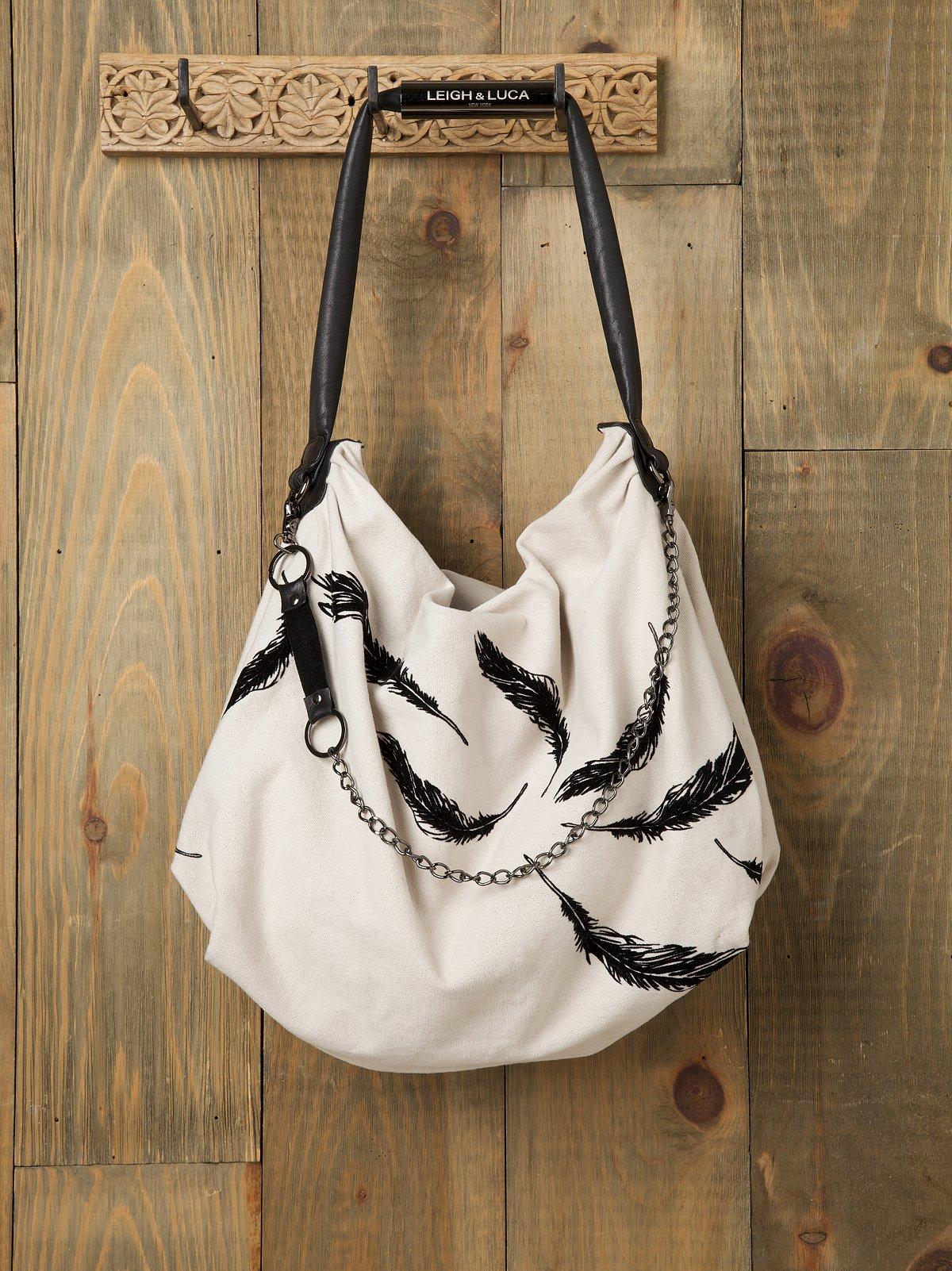 Leigh Feather Bag