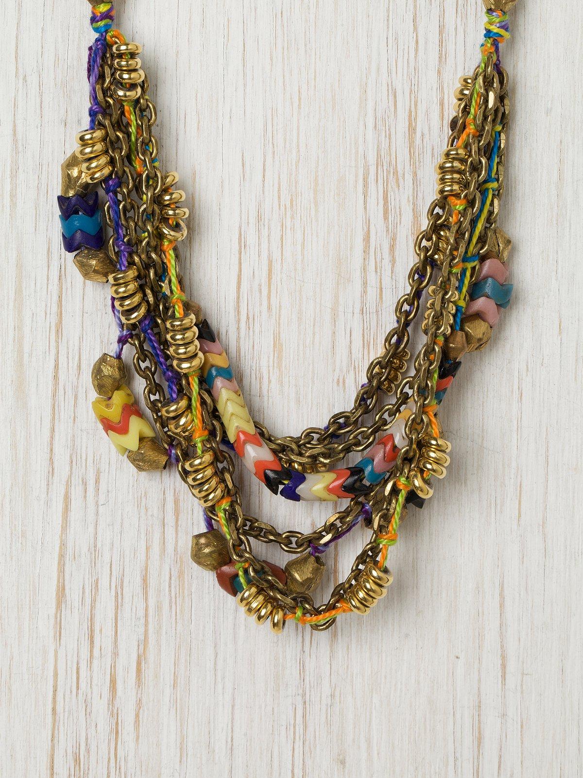 Poppystar Short Necklace